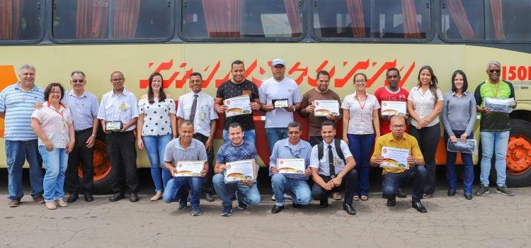 Transcotta entrega premiação aos motoristas destaque do ano de 2019